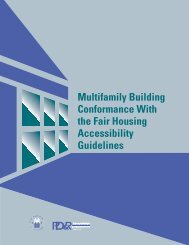 Multifamily Building Conformance With The Fair Housing ...