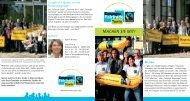 Flyer Fairtrade Towns