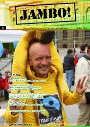 JAMBO duben 06 (pdf, 1,23 MB) - Fair Trade