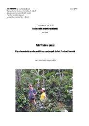 Výstup kurzu - Fair Trade
