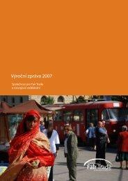 Výroční zpráva 2007 - Fair Trade
