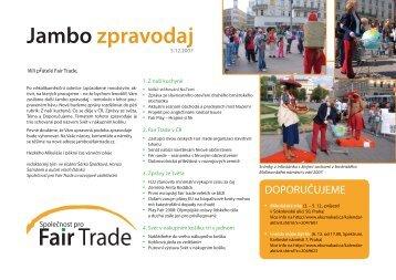 JAMBO prosinec 07 (pdf, 431 kB) - Fair Trade