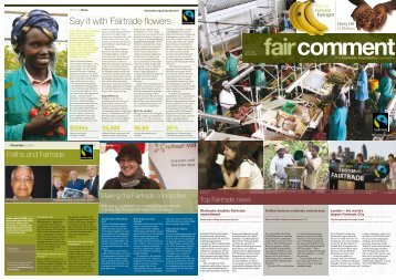 Say it with Fairtrade flowers - The Fairtrade Foundation