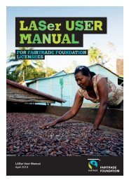 LASer Licensee User Guide - The Fairtrade Foundation