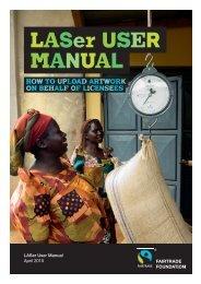 LASer Artwork User Guide - The Fairtrade Foundation
