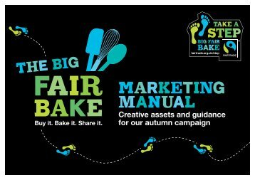 Take a step - The Fairtrade Foundation