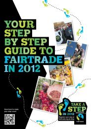 Your step by step guide to Fairtrade in 2012 - The Fairtrade ...