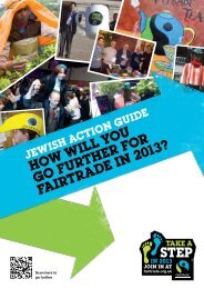Jewish Action Guide (low res) - The Fairtrade Foundation
