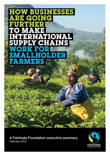 executive summary - The Fairtrade Foundation