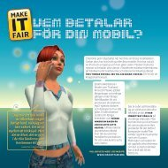 Vem Betalar For Din moBil? - Fair Trade Center