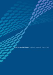 Rental Bond Board Annual Report 2008 - NSW Fair Trading - NSW ...