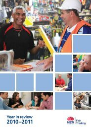 A year in review 2010-2011 (PDF size: 2.2mb) - NSW Fair Trading ...