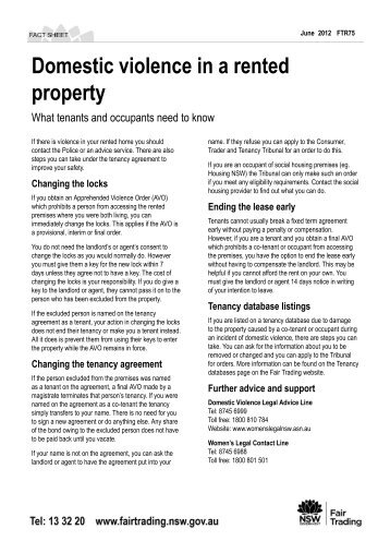 Putting Up The Rent Nsw Fair Trading