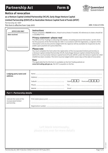 Fair Trading Act Form 1: Notice to consumer: Cancelling a door-to ...