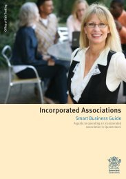 Incorporated Associations - Office of Fair Trading