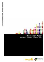 Discussion Paper - Office of Fair Trading - Queensland Government