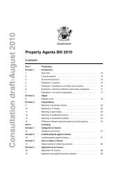 Property Agents Bill 2010 - Office of Fair Trading