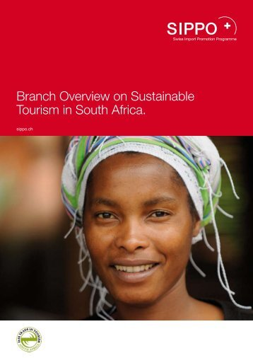 Branch Overview on Sustainable Tourism in South ... - fairunterwegs