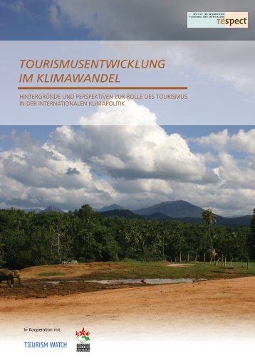"""""""Tourismusentwicklung im Klimawandel"""" zum ... - fairunterwegs"""