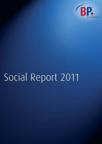 BP Social Report 2011 - Fair Wear Foundation