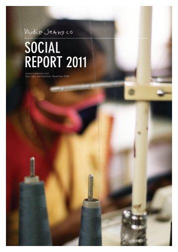 SOCIAL REPORT 2011 - Fair Wear Foundation