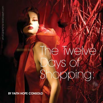 The Twelve Days of Shopping - Faith Hope Consolo