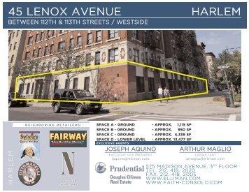 45 Lenox Avenue download flyer - Faith Hope Consolo
