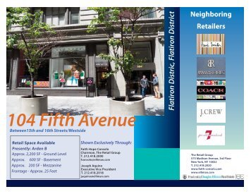 104 Fifth Avenue-Arden B-Page One-5-12 .indd - Faith Hope Consolo