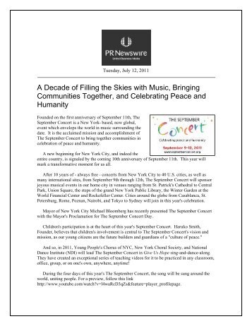 A Decade of Filling the Skies with Music, Bringing Communities ...