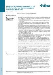 Allgemeine Versicherungsbedingungen für die ... - Asstel