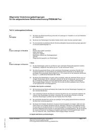 Aufgeschobene Rentenversicherung PREMIUM Flex - Asstel