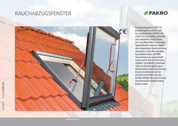 RAUCHABZUGSFENSTER - Dachfenster
