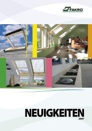 Nowosci Budma 2007 D 01.indd - Fakro Dachflächenfenster GmbH