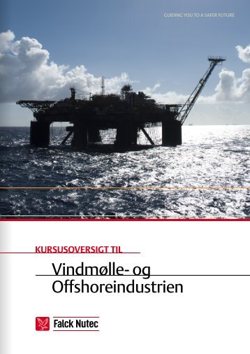 Kursusoversigt for offshore vind samt olie og gas - Falck