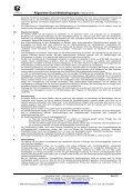 Allgemeine Geschäftsbedingungen: Februar 2012 - Page 2