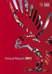 Annual Report 2011 - Falck