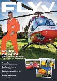Ambulance med 260 km/t Pribina Cup - Falck