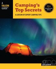 Free pdf from Camping's Top Secrets - Falcon Guides