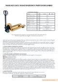 TRANSPALLET STANDARD - Falconlift - Page 6