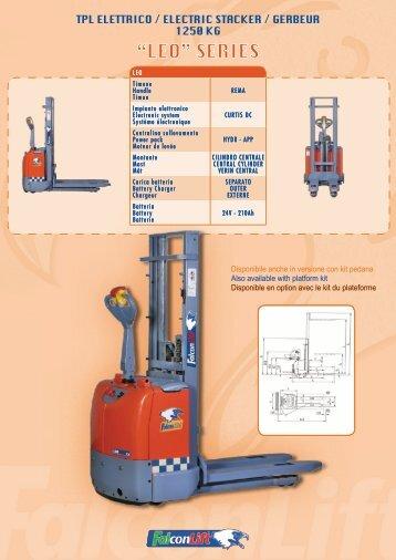 Scarica scheda pdf - Falconlift
