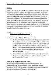 Vorschlag Laborbericht 1