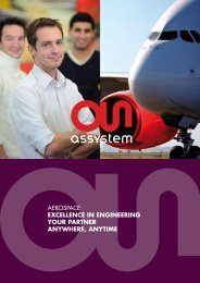 A RELIABLE AND RECOGNIZED TOP-LEVEL ... - Assystem Gmbh