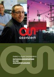 ÜBER ALLE LEBENSZYKLEN - Assystem GmbH