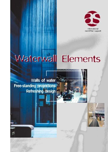 Waterwall Elements - as systems logo