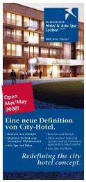 Redefining the city hotel concept. Eine neue ... - Falkensteiner