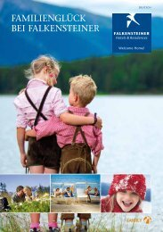 Family Hotels 2013 - Falkensteiner