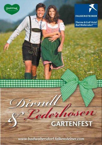 Dirndl & Lederhosen Gartenfest - Falkensteiner