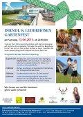 Dirndl & Lederhosen Gartenfest - Falkensteiner - Seite 2