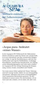 SPA Folder - Familienhotel Sonnenalpe - Falkensteiner - Seite 4