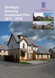 Strategic Housing Investment Plan 2010 - Falkirk Council